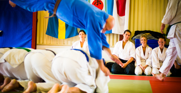 Nybörjargrupp Sport Ju-Jutsu (+15) på måndagar