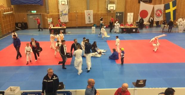 Idag är det judotävling för våra ungdomar