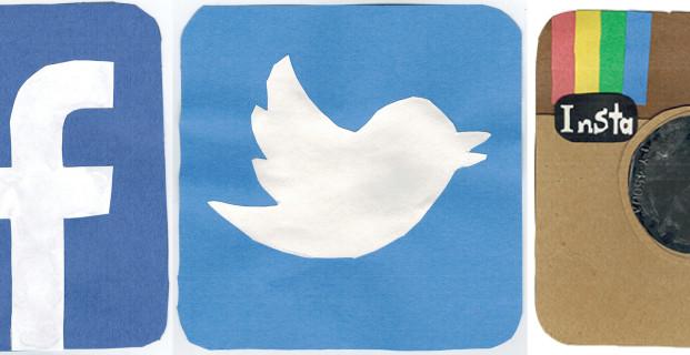 Följ oss på sociala media!