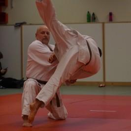 Joel Lilleås svart bälte i Judo