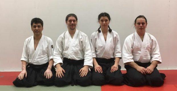 Fyra nya dangraderingar i Aikido!