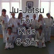 Ny träningsgrupp; ju-jutsu kids – måndagar 19-19.50 med start 25.e september