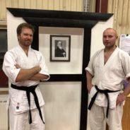 Stort grattis Henrik och Teddy till första dan i Aikido