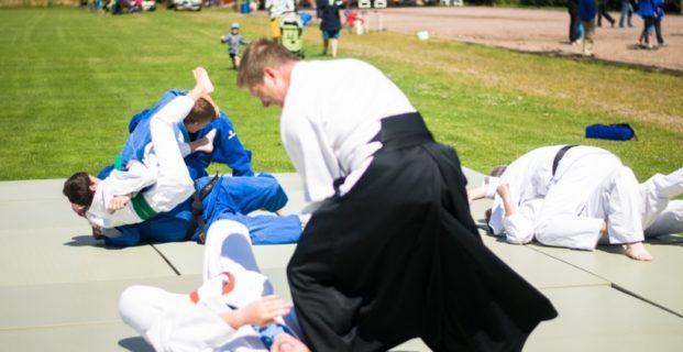 Bilder från prova-på i Kävlinge