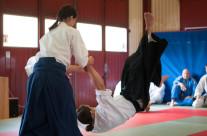 Film från uppvisningen – Aikido