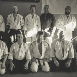 Gemensam träning aikido och sport ju-jutsu